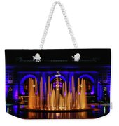 Fountain At Union Station Weekender Tote Bag