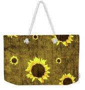 Test Rustic Sunflower Custom Weekender Tote Bag