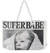 Test-tube Baby, 1978 Weekender Tote Bag