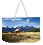 Teton Barn 3 Weekender Tote Bag by Marty Koch