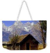 Teton Cabin Weekender Tote Bag
