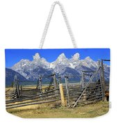 Teton Corral 2 Weekender Tote Bag