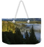 Teton Morning Snake River Overlook Weekender Tote Bag
