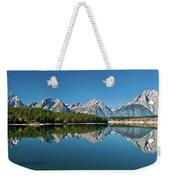 Teton Reflections II Weekender Tote Bag by Gary Lengyel