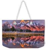 Teton Sunrise Spectacular Weekender Tote Bag