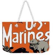 Teufel Hunden - German Nickname For Us Marines Weekender Tote Bag