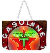 Texaco Gasoline Weekender Tote Bag