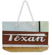 Texan Movie Theater Sign Weekender Tote Bag