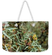 Texas Algerita Bush Weekender Tote Bag