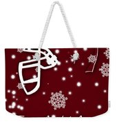 Texas Am Aggies Christmas Card Weekender Tote Bag