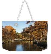 Texas Autumn Weekender Tote Bag