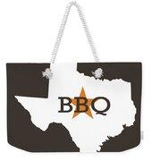 Texas Bbq Weekender Tote Bag