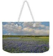 Texas Bluebonnet Bliss Weekender Tote Bag