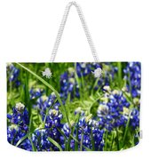 Texas Bluebonnets 002 Weekender Tote Bag