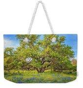 Texas Bluebonnets Under A Giant Oak Tree Weekender Tote Bag