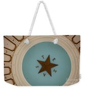 Texas Capitol Dome Lone Star In Austin, Texas, Usa Weekender Tote Bag