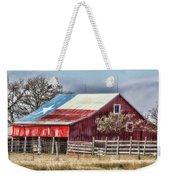 Texas Flag Barn #6 Weekender Tote Bag