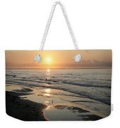 Texas Gulf Coast At Sunrise Weekender Tote Bag