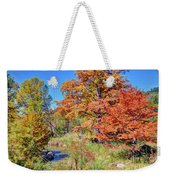Texas Hill Country Autumn Weekender Tote Bag