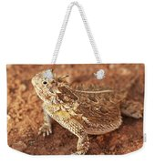 Texas Horned Lizard Weekender Tote Bag