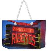 Texas Impressions Sweetie Pie's Ribeyes Weekender Tote Bag