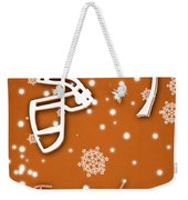 Texas Longhorns Christmas Card Weekender Tote Bag