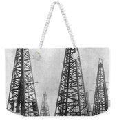 Texas: Oil Derricks, C1901 Weekender Tote Bag