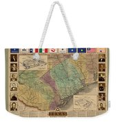 Texas Revolution Weekender Tote Bag