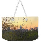 Texas State Capital From Far East Austin Weekender Tote Bag