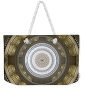 Texas State Capitol - Interior Dome Weekender Tote Bag