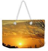 Texas Sun Weekender Tote Bag