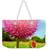 Texas Thistle 003 Weekender Tote Bag