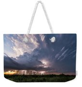 Texas Twilight Weekender Tote Bag