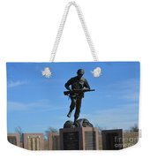 Texas War Memorial Weekender Tote Bag