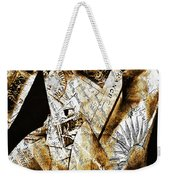 Text Wrap Statue Weekender Tote Bag