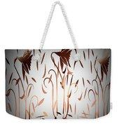 Texture Drama Dancing Flowers Weekender Tote Bag