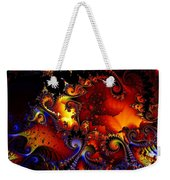 Texture Of Jackolantern Weekender Tote Bag