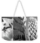 Texture Triptych Weekender Tote Bag