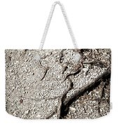 Texture With Root With Plenty Of Pebbles Weekender Tote Bag