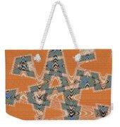 Textured Abstract # 2060ew4dt Weekender Tote Bag