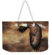 Textured Eagle 2 Weekender Tote Bag