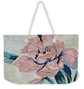 Textured Floral No.2 Weekender Tote Bag by Writermore Arts