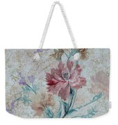 Textured Florals No.1 Weekender Tote Bag by Writermore Arts