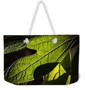 Textured Glow Weekender Tote Bag