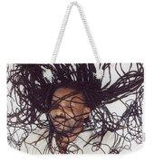 Textured Locs Weekender Tote Bag