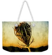 Textured Seedhead. Weekender Tote Bag