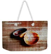 Textured Shells Weekender Tote Bag