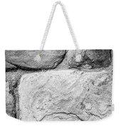 Textured Stone Wall Weekender Tote Bag