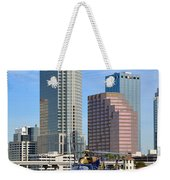 Awaiting The Call Weekender Tote Bag