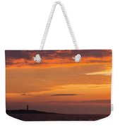 Thacher Island Lighthouse Panoramic Weekender Tote Bag